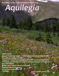 Aquilegia, Vol. 39 No. 3, Summer 2015: Newsletter of the Colorado Native Plant Society