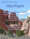 Aquilegia Annual Conference 2017; A Region of Astonishing - and Fragile - Beauty