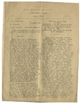 1919 Brown and Gold Vol 01 No 03 April 1919