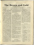 1920 Brown and Gold Vol 02 No 04 February 3, 1920