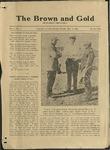 1920 Brown and Gold Vol 02 No 07 May 5, 1920