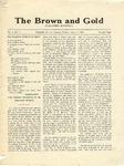 1920 Brown and Gold Vol 02 No 08 June 5, 1920