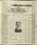 1920 Brown and Gold Vol 03 No 01 October 1, 1920