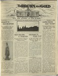 1920 Brown and Gold Vol 03 No 03 December 1, 1920
