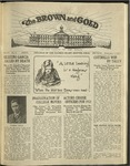1921 Brown and Gold Vol 03 No 05 February 1, 1921