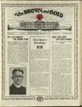 1922 Brown and Gold Vol 04 No 04 January 1, 1922