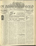 1925 Brown and Gold Vol 07 No 4 January 15, 1925