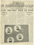 1925 Brown and Gold Vol 07 No 7 April 15, 1925