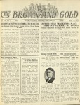1925 Brown and Gold Vol 07 No 8 May 15, 1925