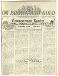 1925 Brown and Gold Vol 07 No 9 June 15, 1925