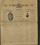 1928 Brown and Gold Vol 10 No 14  May 1, 1928
