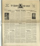 1929 Brown and Gold Vol 11 No 15 May 20, 1929