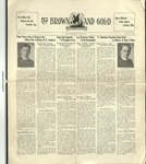 1929 Brown and Gold Vol 12 No 02 October 15, 1929