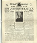 1929 Brown and Gold Vol 12 No 06 December 15, 1929
