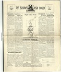 1930 Brown and Gold Vol 12 No 08 February 1, 1930