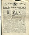 1930 Brown and Gold Vol 12 No 16 June 1, 1930