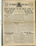 1934 Brown and Gold Vol 16 No 13 April 15, 1934