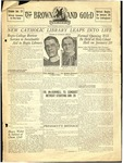 1935 Brown and Gold Vol 17 No 07 January 15, 1935