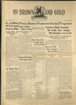 1936 Brown and Gold Vol 18 No 07 January 15, 1936