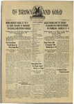 1936 Brown and Gold Vol 19 No 05 December 1, 1936