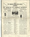 1931 Brown and Gold Vol 13 No 07 January 15, 1931