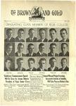 1937 Brown and Gold Vol 19 No 13 May 1, 1937