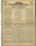 1933 Brown and Gold Vol 16 No 02a Supplement October 15, 1933