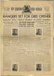 1939 Brown and Gold Vol 22 No 01 September 29, 1939