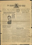 1939 Brown and Gold Vol 22 No 06 December 7, 1939