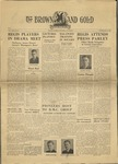 1940 Brown and Gold Vol 22 No 08 February 9, 1940