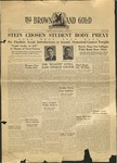 1940 Brown and Gold Vol 22 No 14 May 3, 1940