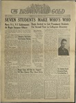 1942 Brown and Gold Vol 25 No 04 October 28, 1942