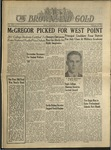 1943 Brown and Gold Vol 25 No 09 February 10, 1943