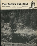1945 Brown and Gold Vol 27 No 05 June 20, 1945
