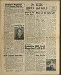 1954 Brown and Gold Vol 37 No 09 April 9, 1954