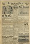 1956 Brown and Gold Vol 39 No 08 April 13, 1956