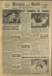 1956 Brown and Gold Vol 39 No 09 May 4, 1956