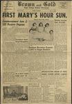 1957 Brown and Gold Vol 40 No 09 May 17, 1957