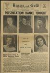 1957 Brown and Gold Vol 41 No 03 Nov 8, 1957