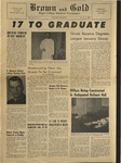 1958 Brown and Gold Vol 41 No 06 January 17, 1958