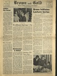 1959 Brown and Gold Vol 43 No 02 October 23, 1959