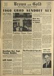1960 Brown and Gold Vol XLIII No 12 May 13, 1960