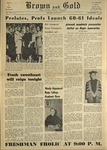 1960 Brown and Gold Vol XLIV No 1 September 30, 1960