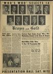 1960 Brown and Gold Vol XLIV No 4 November 17, 1960