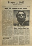 1972 Brown and Gold Vol 55 No 3 October 13, 1972