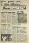 1986 Brown and Gold Vol 68 No 02 September 18, 1986