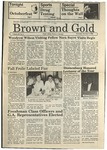 1986 Brown and Gold Vol 68 No 03 October 2, 1986