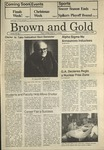 1986 Brown and Gold Vol 68 No 07 December 4, 1986