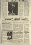 1987 Brown and Gold Vol 68 No 08 January 29, 1987