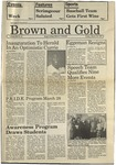 1987 Brown and Gold Vol 68 No 11 March 20, 1987